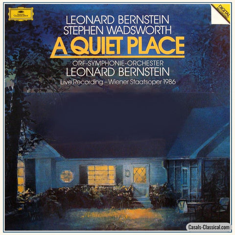 Bernstein/wiener Staatsoper: A Quiet Place - Dg 419 761-1 (3Lp Box Set) Lp