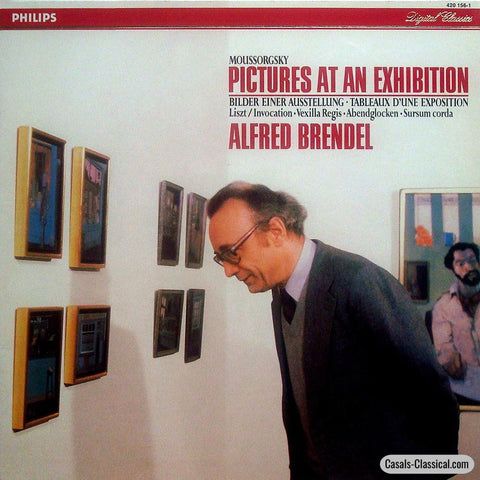 Brendel: Mussorgsky Pictures At An Exhibition + Liszt - Philips 420 156-1 Lp