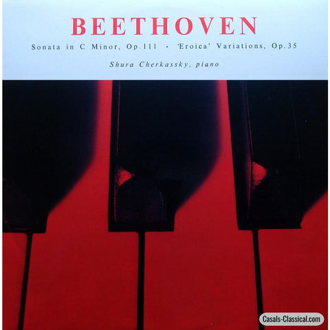 Cherkassky: Beethoven Sonata Op. 111 + Eroica Vars. - World Record Club Wrc T271 Lp