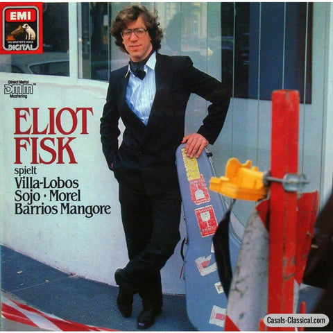 Fisk: Guitar Music By Villa-Lobos Sojo Morel Et Al. - Emi 14-6757-1 Lp