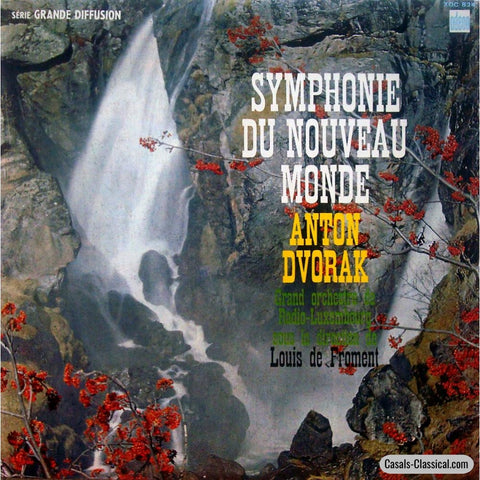 Froment: Dvorak Symphony No. 9 From The New World - Odeon Xoc 824 Lp
