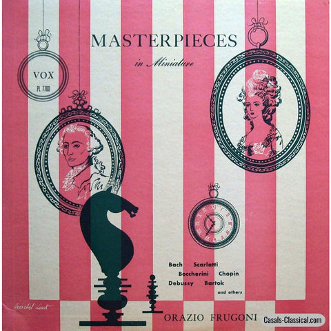 Frugoni: Masterpieces In Miniature (Piano Encores) - Vox Pl 7700 Lp