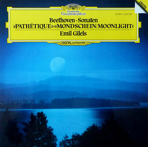 Gilels: Moonlight & Pathetique Sonatas, etc. - DG 2532 008