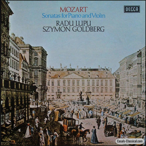 Goldberg/lupu: Mozart Violin Sonatas - Decca 13Bb 207/212 (6Lp Box Set) Lp