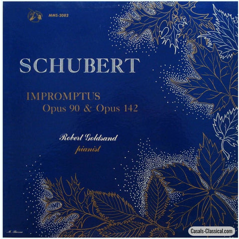 Goldsand: Schubert Impromptus D. 899 & 935 - Guilde International Du Disque Mms-2082 Lp