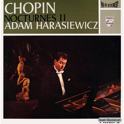 Harasiewicz: Chopin Nocturnes Volume Ii - Philips 835 219 Ay Lp