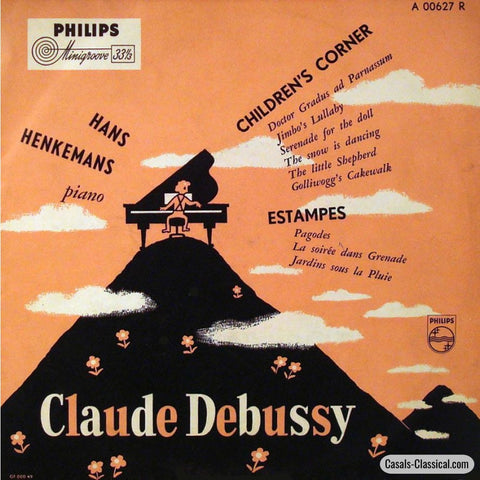 Henkemanns: Debussy Childrens Corner + Estampes - Philips A 00627 R Lp