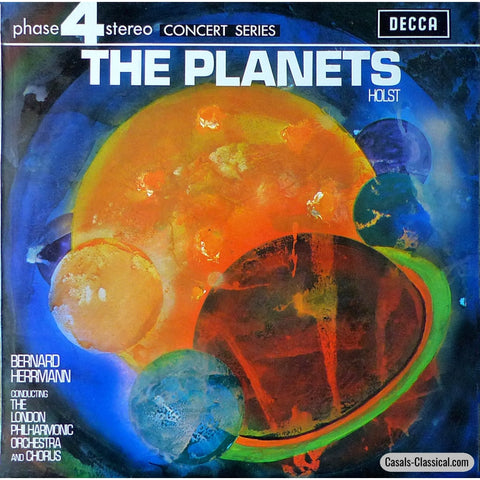 Herrmann/lpo: Holst The Planets - Decca Phase4 Pfs 4184 Lp