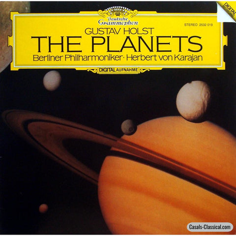 Karajan/bpo: Holst The Planets - Dg 2532 019 Lp
