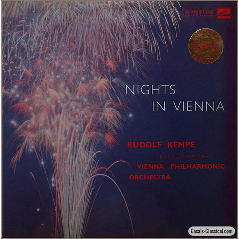 Kempe/vpo: Nights In Vienna (J. Strauss Et Al.) - His Masters Voice Asd 279 Lp