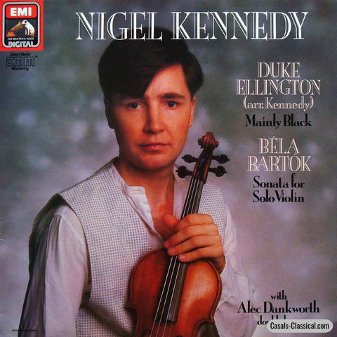 Kennedy: Ellington Mainly Black + Bartok Sonata For Solo Violin - Emi Nigel 1 Lp
