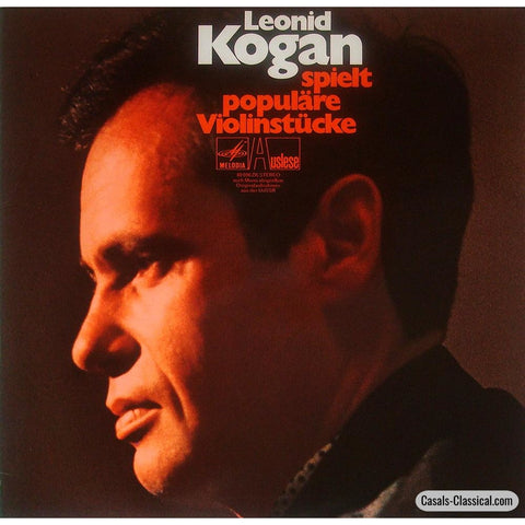 Kogan: Popular Pieces (Violin Encores) - Melodiya / Auslese 80 896 Zk Lp