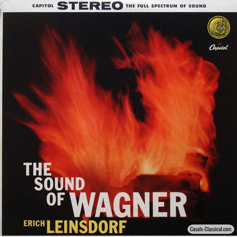 Leinsdorf/concert Arts So: The Sound Of Wagner - Capitol Sp 8411 Lp