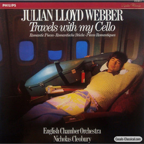 Lloyd Webber: Travels With My Cello (Encores Orchestra) - Philips 412 231-1 Lp