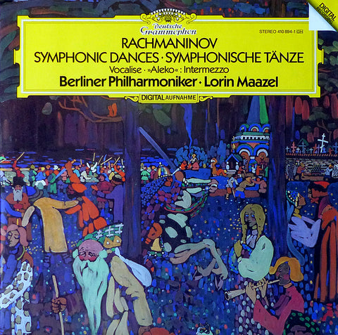 Maazel: Rachmaninov Symphonic Dances, etc. - DG 410 894-1