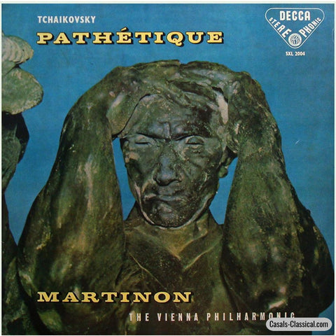 Martinon/vpo: Tchaikovsky Symphony No. 6 Pathetique - Decca Sxl 2004 Lp