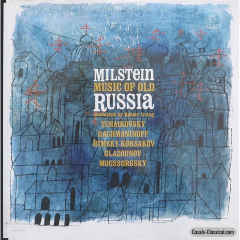 Milstein: Music Of Old Russia (Rimsky-Korsakov Glazunov Et Al.) - Angel 36002 Lp