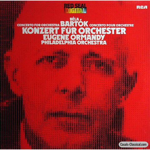 Ormandy: Bartok Concerto For Orchestra - Rca Arc1-13421 (Ddd) Lp
