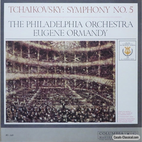 Ormandy: Tchaikovsky Symphony No. 5 (Rec. 1959) - Columbia Ml 5435 Lp