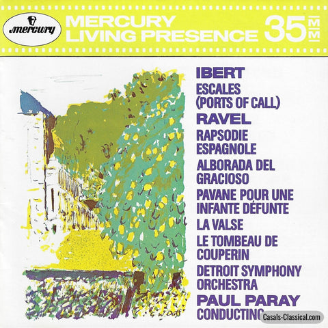 Paray: Rapsodie Espagnole + Ports Of Call Etc. - Mercury 432 003-2 Cd