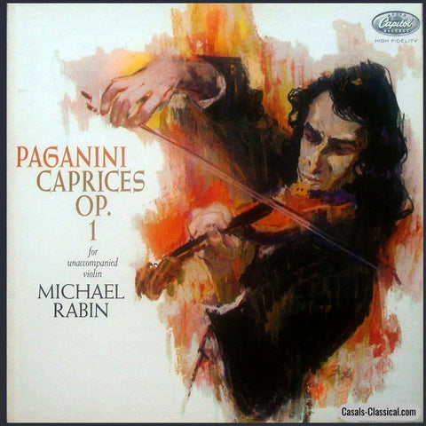 Rabin: Paganini 24 Caprices Op. 1 - Capitol Pbr 8477 (2Lp Box Set) Lp