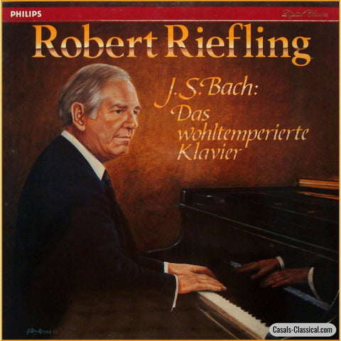 Riefling: Bach Well-Tempered Clavier Books 1 & 2 - Philips 416 342-1 (5Lp Box Set) Lp