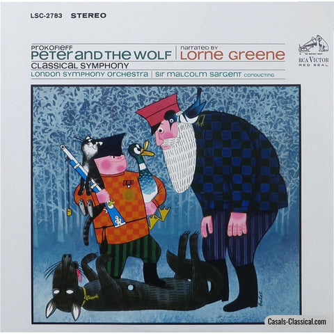 Sargent/lso: Prokofiev Peter & The Wolf / Classical Symphony - Rca Lsc-2783 Lp