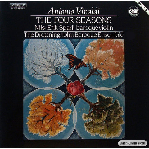 Sparf/drottningholm Ensemble: Vivaldi The 4 Seasons - Bis Lp-275 Lp