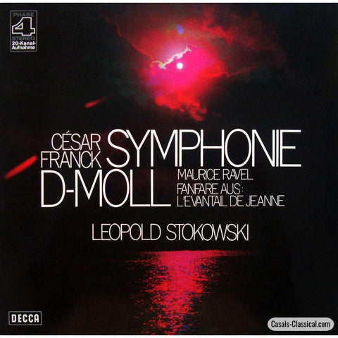 Stokowski: Franck Symphony In D Minor + Ravel - Decca Phase4 Pfs 4218 Lp