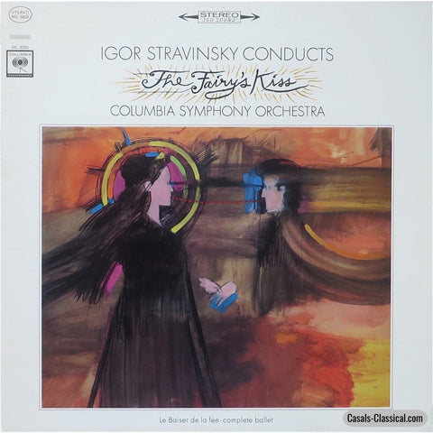 Stravinsky/columbia So: Le Baiser De La Fée (The Fairys Kiss) - Columbia Ms 6203 Lp