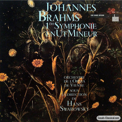 Swarowsky: Brahms Symphony No. 1 In C Minor Op. 68 - Odeon Xoc 817 Lp