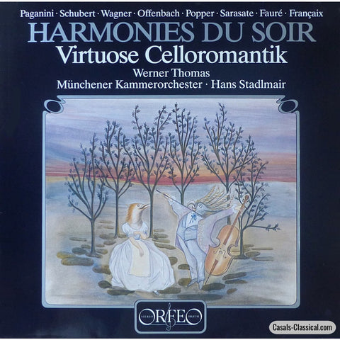 Thomas: Harmonies Du Soir (Cello Encores With Orchestra) - Orfeo S 131 851 A Lp