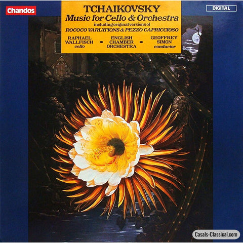 Wallfisch: Tchaikovsky Works For Cello & Orchestra - Chandos Abrd 1080 Lp