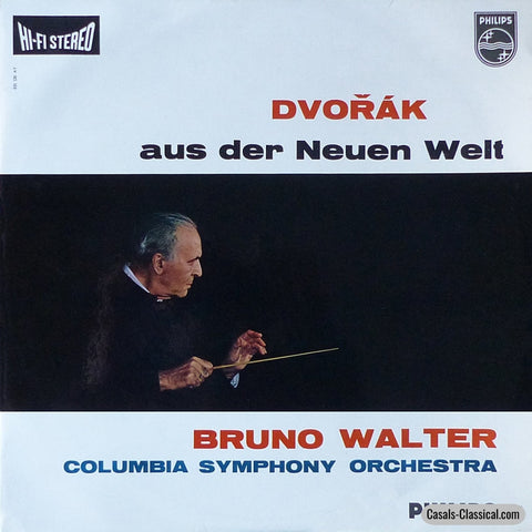 Walter: Dvorak Symphony No. 9 (New World) - Philips 835 520 Ay Lp