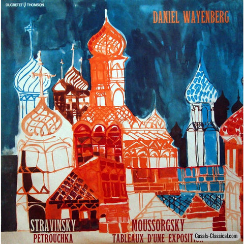 Wayenberg: Pictures At An Exhibition + Stravinsky - Ducretet-Thomson 320 C 150 Lp
