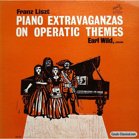 Wild: Piano Extravaganzas On Operatic Themes (Arr. Liszt) - Rca Cm-302 Lp