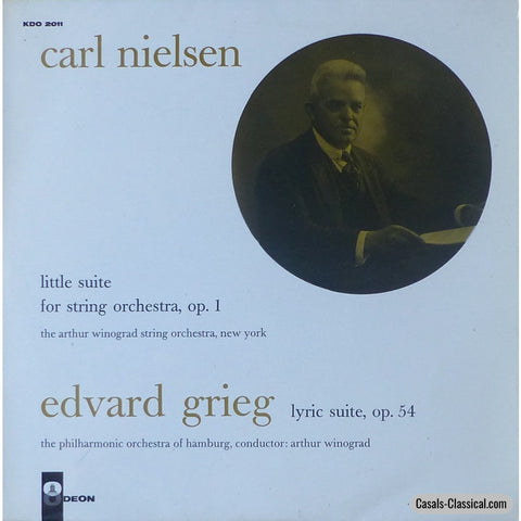 Winograd: Nielsen Little Suite Op. 1 / Grieg Lyric 54 - Odeon Kdo 2011 Lp