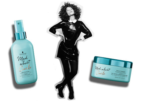 Schwarzkopf Professional Mad About Curls Product Range Banner