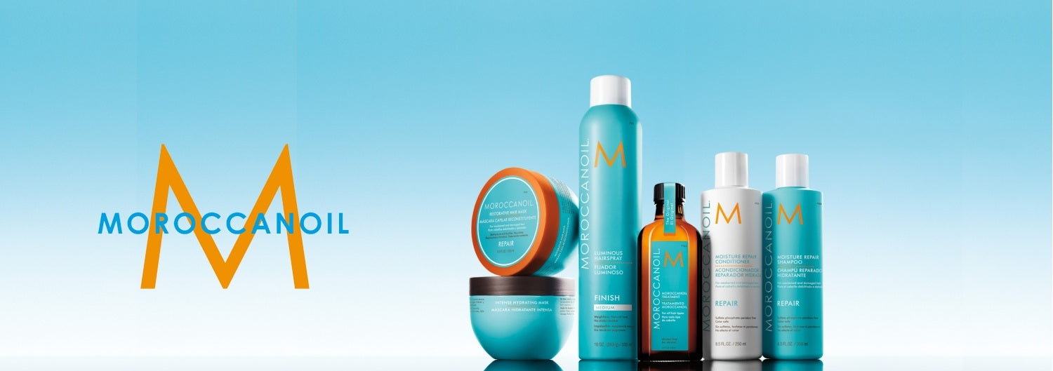 Moroccan Oil available at Eds Hair Bramhall (Manchester)