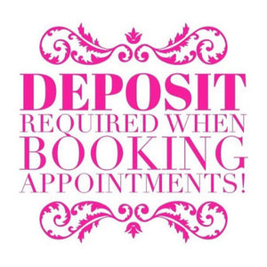 Appointment Deposit