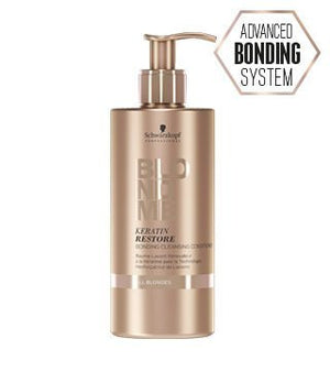 BLONDME Keratin Restore Bonding Cleansing Conditioner