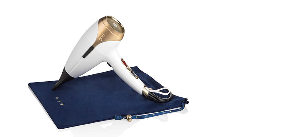 Eds Hair Bramhall - ghd helios™ hair dryer in stylish white - Wish Upon A Star
