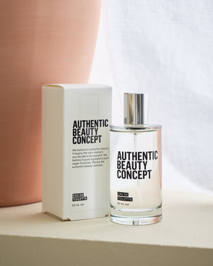 Authentic Beauty Concept - Eau De Toilette by Box on a shelf 50ml - Eds Hair Bramhall