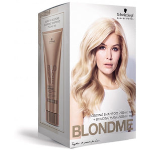 BlondMe Keratin Restore All Blondes Shampoo and Treatment (Duo Pack)