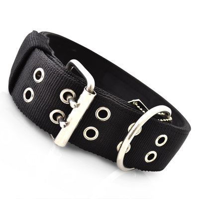 Strong heavy duty dog collar