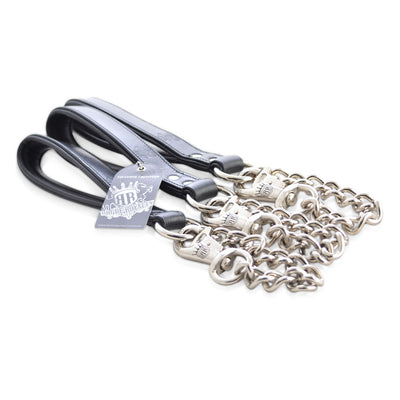 Dog Leash - Titan Heavy Link Chain - 120cm
