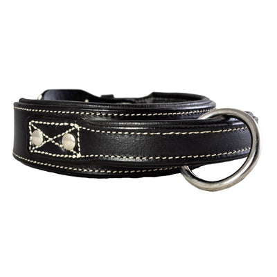 Dog Collar - Leather Handle Collar