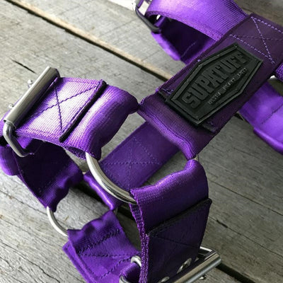 Dog Harness - Supatuff Heavy Duty Purple
