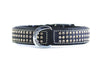 "Dog Collar - ""Shimmer"" Swarovski Black"