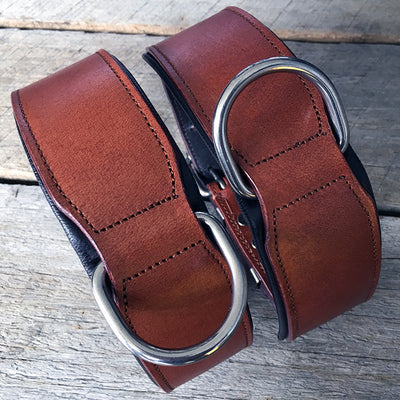 Leather Dog Collar - Classic Dog Collar Brown